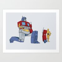 Not The Parts They Were … Art Print