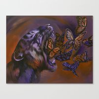 Canvas Print featuring Gentle Roar by S.G. DeCarlo