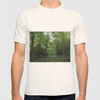 Bluebell Wood Mens Fitted Tee Natural SMALL