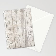 White Birch Trees Stationery Cards