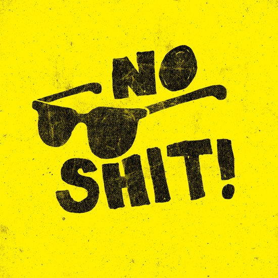 No Shit Shades! Canvas Print