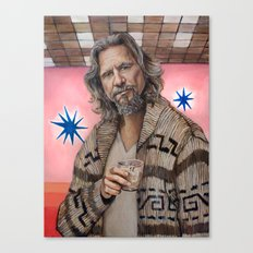 The Dude / The Big Lebow… Canvas Print