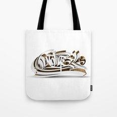 3D GRAFFITI - NO TIME Tote Bag