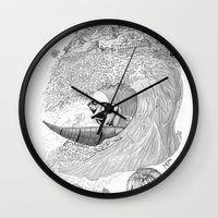 Machu Qun Tiksi Wiraqucha Wall Clock