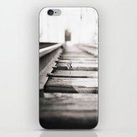 railroad flower  iPhone & iPod Skin