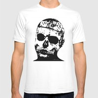 Rick Genest (Zombie Boy) Mens Fitted Tee White SMALL