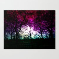 london high park at the end of january Canvas Print