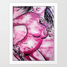 Caliber Love #2 Art Print