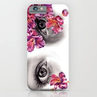 iPhone & iPod Case featuring This Night Has Opened My Eyes by KatePowellArt