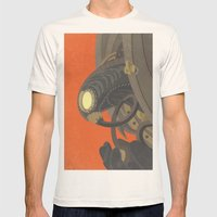 SongBird - BioShock Infinite Mens Fitted Tee Natural SMALL