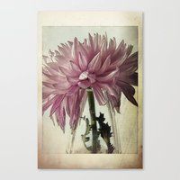 Vintage - Purple Canvas Print