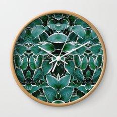 50 Shades of Green (8) Wall Clock