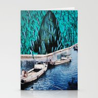 Fish Festival Stationery Cards