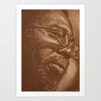 Incredible Curtis! Art Print