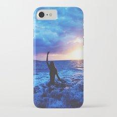 Sunset Swimmer Slim Case iPhone 7