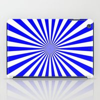 Starburst (Blue/White) iPad Case