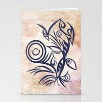 Tribal Tattoo Traveler Stationery Cards