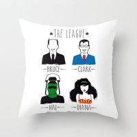 THE LEAGUE Throw Pillow