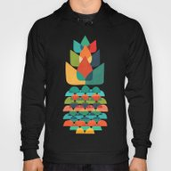 Colorful Whimsical Anana… Hoody