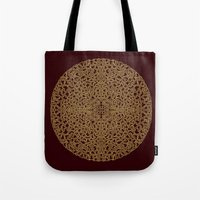 Puzzled (Moroccan Mandal… Tote Bag