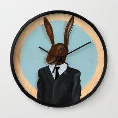 David Lynch | Rabbit Wall Clock