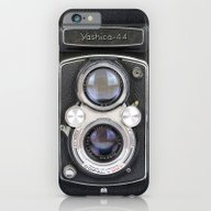 iPhone & iPod Case featuring Vintage Camera Yashica 4… by Diego Tirigall