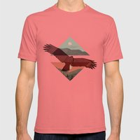 HAWKING Mens Fitted Tee Pomegranate SMALL