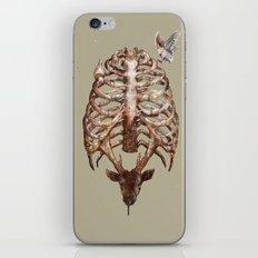Deer & Ribcage iPhone & iPod Skin