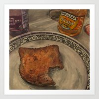 Peanut Butter And Jelly … Art Print