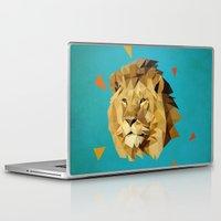 lion Laptop & iPad Skins featuring lion by gazonula