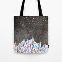 Crystal City At Night Tote Bag
