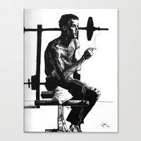 In between sets Canvas Print