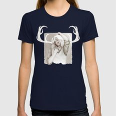 Hannibal: Unbecoming Womens Fitted Tee Navy SMALL