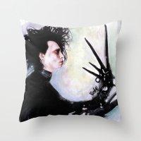 Edward Scissorhands: The… Throw Pillow