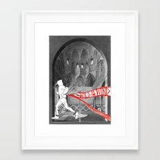 Wild is the Wind Framed Art Print