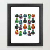 The Owls Framed Art Print