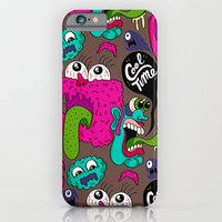 iPhone & iPod Case featuring Cool Time Pattern by Chris Piascik