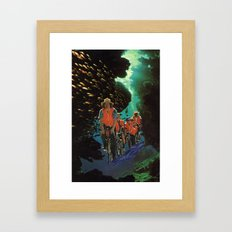 Bike Tour Framed Art Print