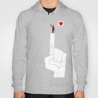the point is my heart Hoody