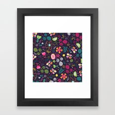 Flowers and emotions Framed Art Print