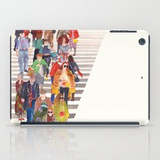 Zebra crossing iPad Case
