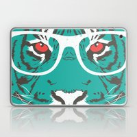 Bookish Big Cat Laptop & iPad Skin
