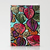 Leaves3 Stationery Cards