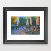 El Fresco Framed Art Print