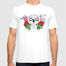 amor eterno Mens Fitted Tee SMALL White