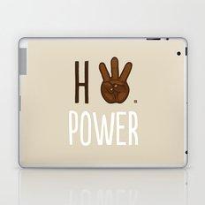 HiiiPower (w/text) : Chocolate Laptop & iPad Skin