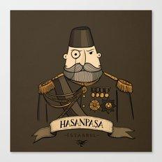 Hasanpasa, Istanbul Canvas Print