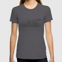 Pointer Womens Fitted Tee Asphalt SMALL