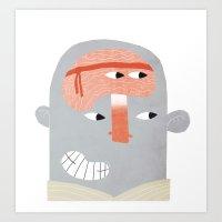 Karate Art Print