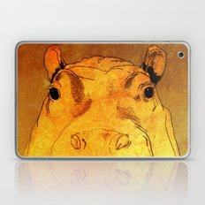 Golden Hippo Laptop & iPad Skin